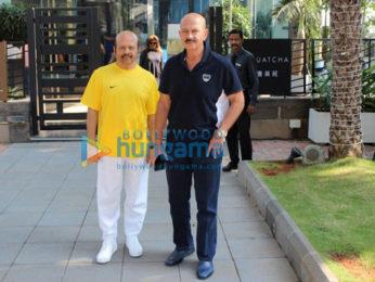 Rakesh Roshan and family spotted at Yauatcha