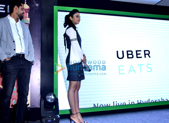 Rakul Preet launches 'Uber Eats' in Hyderabad