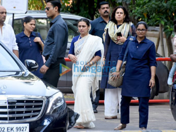 Ram Mukerji's Shraddh ceremony and lunch at ISCKON temple