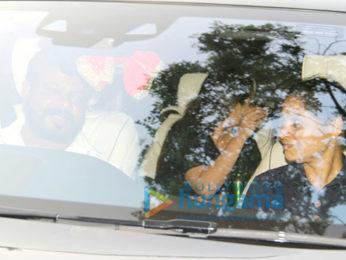 Rani Mukerji spotted in Bandra