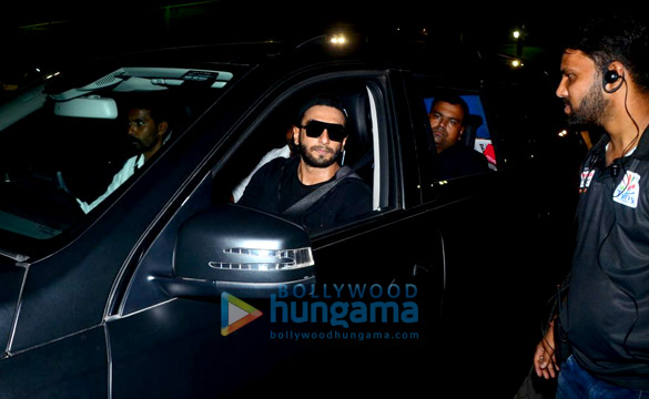 Ranveer Singh spotted after a football session in Bandra