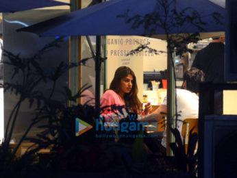 Rhea Chakraborty spotted on a coffee date in Bandra