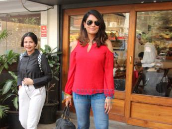 Richa Chadda snapped at Sequel in Bandra