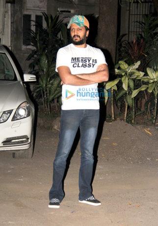 Riteish Deshmukh spotted at Bandra