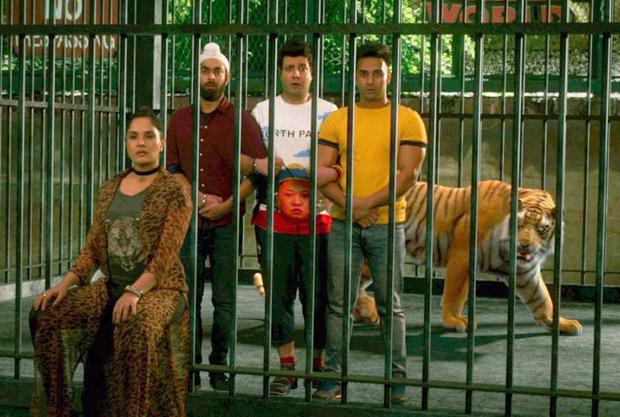 SHOCKING Pulkit Samrat, Varun Sharma, Manjot Singh get locked in a cage with a tiger