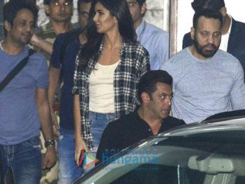 Salman Khan, Katrina Kaif, Karan Johar, Akshay Kumar & Sidharth Malhotra snapped arriving from Goa