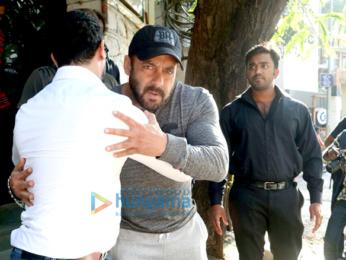 Salman Khan snapped at the Korner house