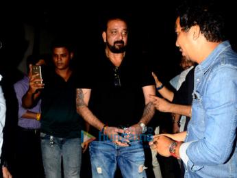 Sanjay Dutt snapped at Vishesh Films' office