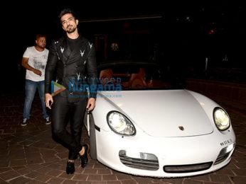 Saqib Saleem spotted with his new car