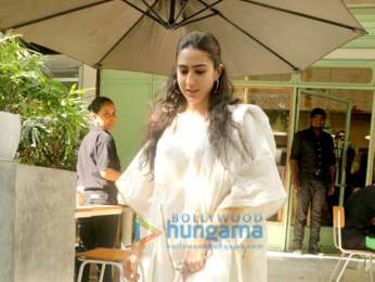 Sara Ali Khan snapped in Mumbai