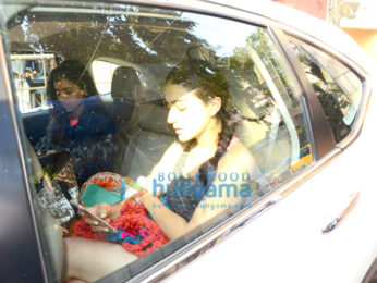 Sara Ali Khan spotted after a gym session in Bandra