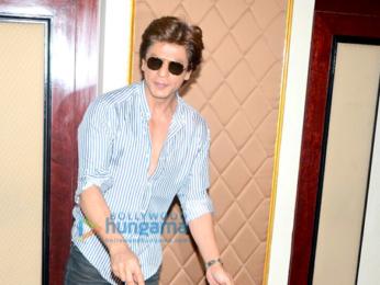 Shah Rukh Khan celebrates his birthday with the media