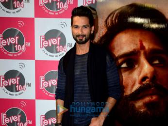 Shahid Kapoor promotes 'Padmavati' on Fever 104 FM