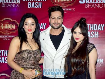 Shaleen Bhanot's birthday bash
