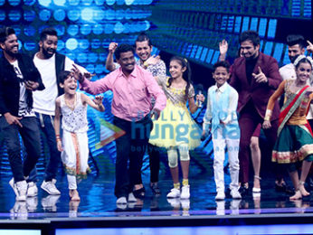Shilpa Shetty Kundra snapped on sets of Super Dancer Chapter 2