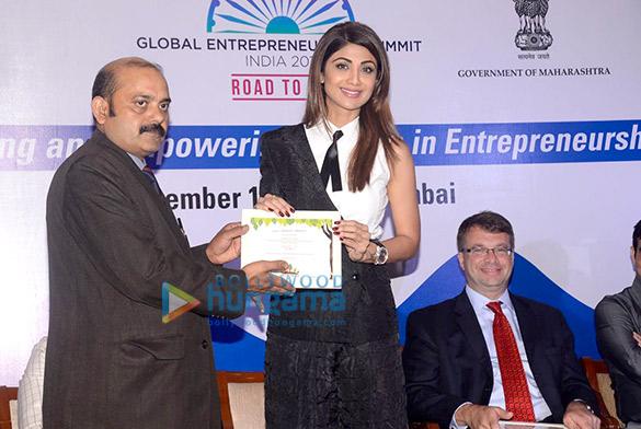 Shilpa Shetty attends an event of 'FICCI'