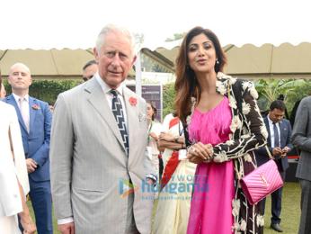 Shilpa Shetty meets Prince Charles in Delhi