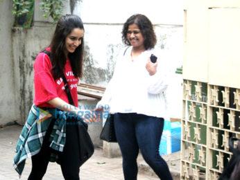 Shraddha Kapoor snapped at Maddock office