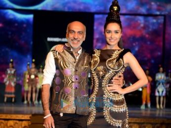 Shraddha Kapoor walks the ramp for Manish Arora at Blender's Pride Fashion Tour, New Delhi