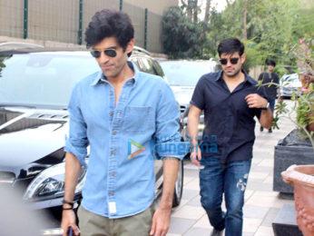 Sidharth Malhotra and Sonakshi Sinha visit Gauri Khan's store