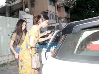 Sridevi's daughter Khushi Kapoor snapped in Juhu
