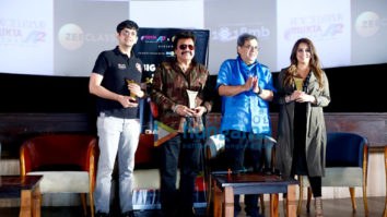 Subhash Ghai, Mahima Chaudhary and others at Pardes screening