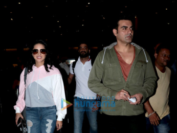 Sunny Leone, Arbaaz Khan and others snapped at the airport