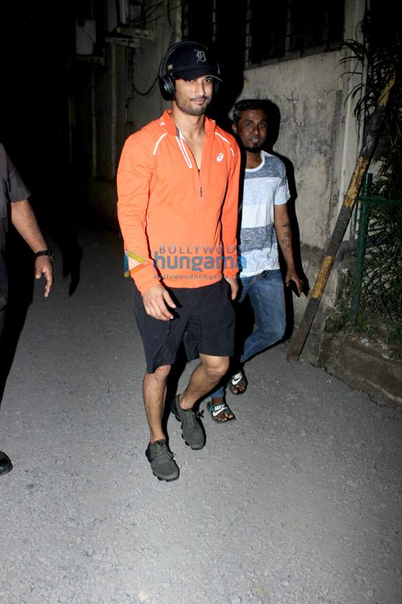 Sushant Singh Rajput snapped in Mumbai