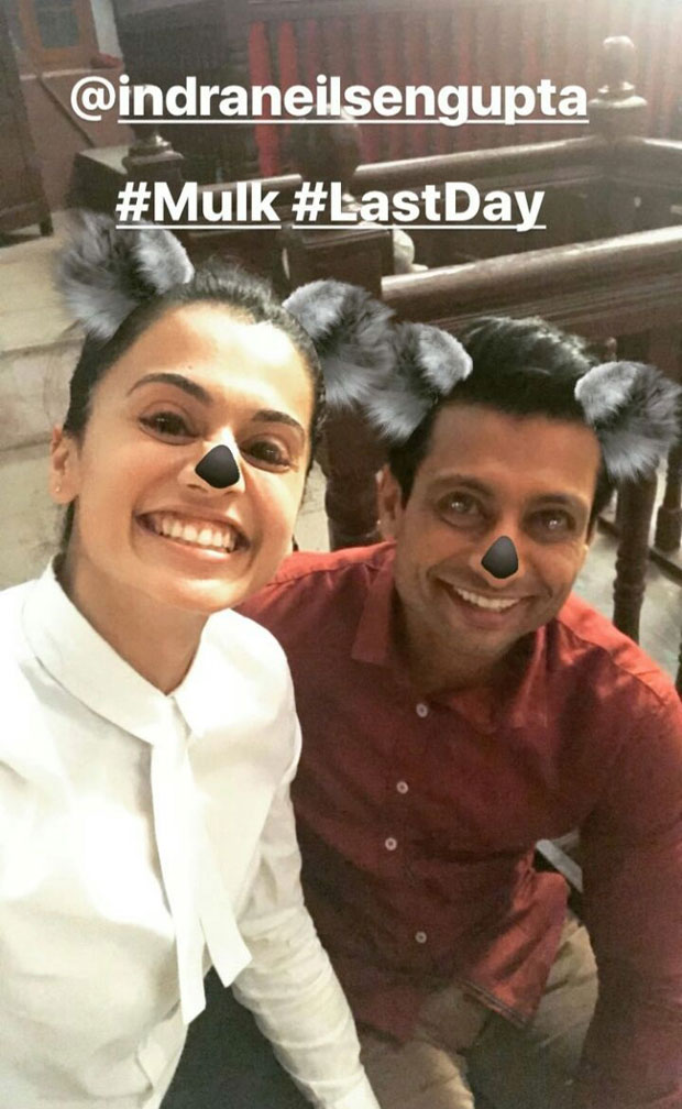 Taapsee Pannu starrer Mulk wrapped up in a funny way and here are the pictures-1