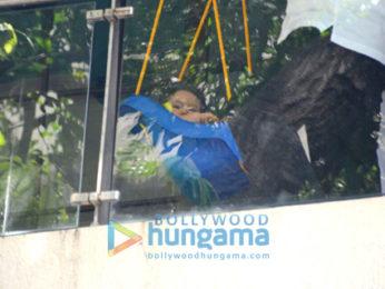 Taimur Ali Khan spotted swinging