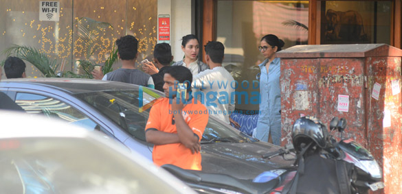 Tammanah Bhatia spotted in Bandra