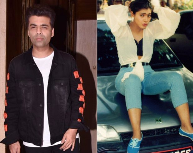 This conversation between Kajol and Karan Johar over a throwback photo proves all is well between them!