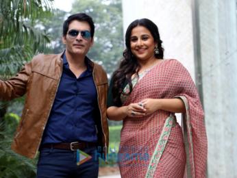 Vidya Balan and Manav Kaul promote 'Tumhari Sulu' in New Delhi