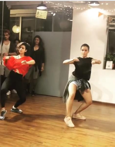 WATCH Dangal girls Sanya Malhotra and Fatima Sana Shaikh show off sexy moves on Rihanna's 'Work'