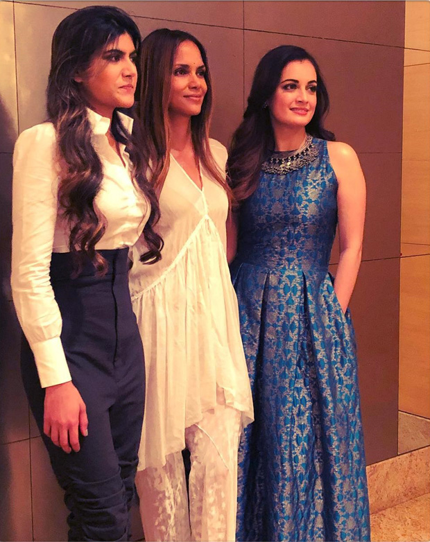 WHOA! Hollywood star Halle Berry is in India; Dia Mirza and Ananya Birla meet the actress!