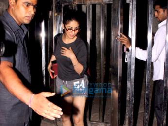 Yami Gautam snapped at a clinic