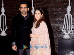 Zaheer Khan and Sagarika Ghatge organize a dinner bash post their marriage registration