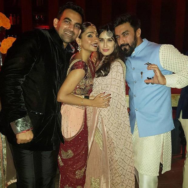 Zaheer Khan and Sagarika Ghatge organize a dinner bash post their marriage registration (8)