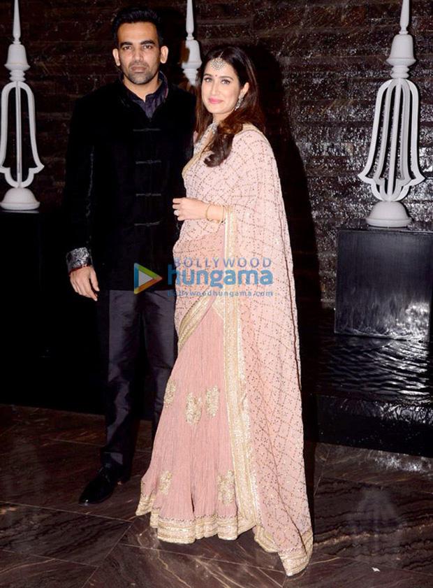 Zaheer Khan and Sagarika Ghatge organize a dinner bash post their marriage registration