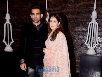 Zaheer Khan and Sagarika Ghatge's wedding bash