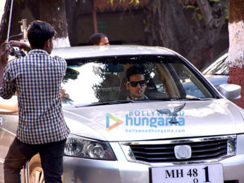 Zayed Khan snapped on the sets of 'Haasil'