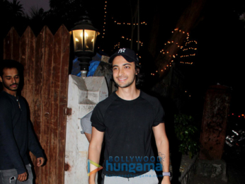 Aayush Sharma snapped at his dance class