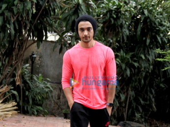 Aayush Sharma snapped at the dance class