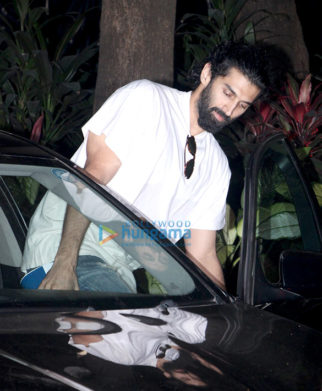 Aditya Roy Kapur snapped at Mohit Suri's office