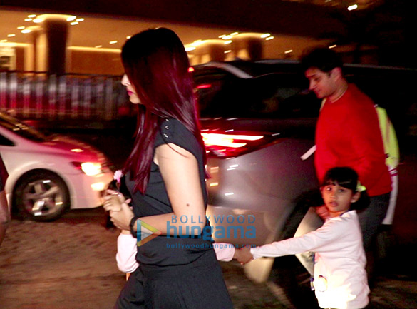 Aishwarya Rai Bachchan snapped at BKC with Aaradhya