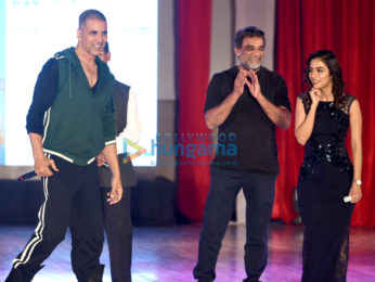 Akshay Kumar, R Balki and others at Pad Man promotions at Mood Indigo 2017