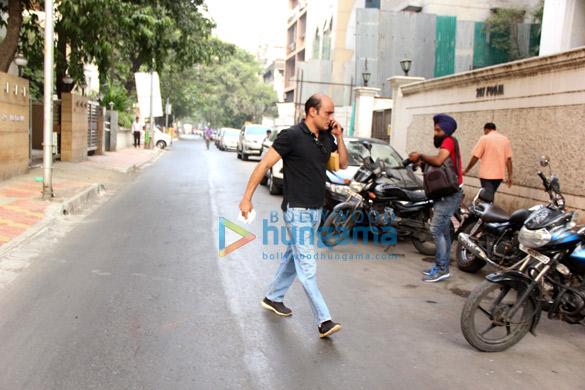 Akshaye Khanna snapped in Bandra