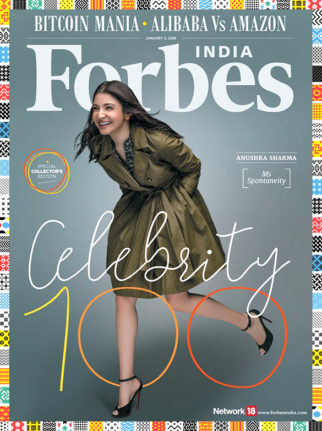Anushka Sharma On The Cover Of Forbes Magazine