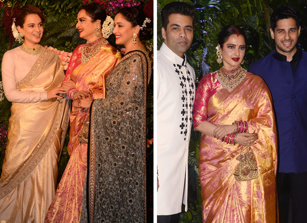 Bollywood Stars Attend Mumbai Reception Of Virat Kohli Anushka Sharma