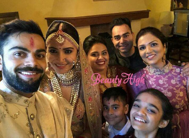 Anushka Sharma and Virat Kohli look royal in their traditional outfits in the first photos from their wedding in Italy!
